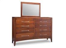 Catalina 8 Drawer Long High Dresser