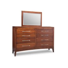 Catalina 8 Drawer Long High Dresser