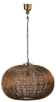 Copper Globe Pendant