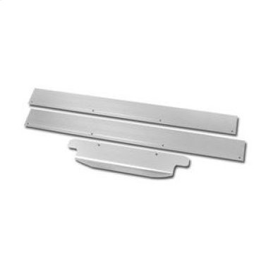 "15"" 50# Ice Maker Trim Kit - Stainless Steel"