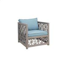 Vincent Lattice Outdoor Chair in Henna Teak