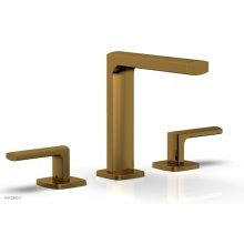 RADI Widespread Faucet Lever Handles High Spout 181-02 - French Brass