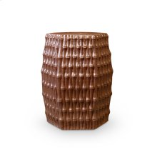 Burma Stool/ Side Table, Brown