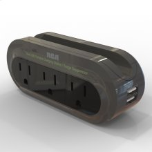 Travel charger with surge protection