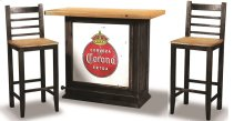 Sunset Trading 3 Piece Party Bar Set with Storage