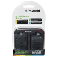 Polaroid Double (Dual) Battery Charger For The Nikon Batteries