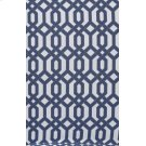 Blue Cable Stitched Slip Cover Product Image
