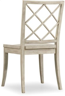 Sunset Point X Back Side Chair