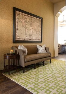 Maze Maz01 Moss Rectangle Rug 3'6'' X 5'6''