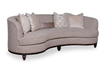 "Blair Fawn 101"" Kidney Sofa Product Image"