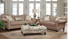 8750 Arlington Safari Sofa and Loveseat