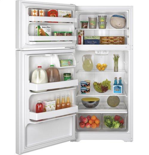 GE® ENERGY STAR® 14.6 Cu. Ft. Top-Freezer Refrigerator