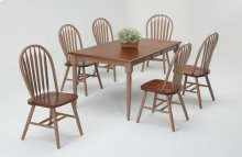 Solid Hardwood Butterfly Leaf Table