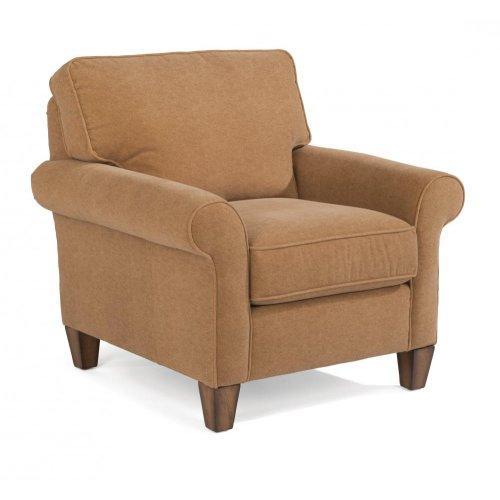 Westside Chair & Ottoman Set in Cashmira Fabric