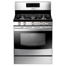 5.8 cu. ft. Freestanding Gas Range (Stainless Steel)
