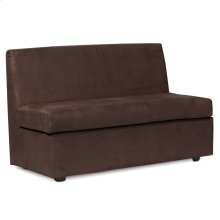 Slipper Loveseat Bella Chocolate