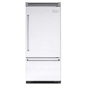 "White 36"" Quiet Cool™ Bottom-Mount Refrigerator/Freezer - VIBB Tru-Flush™ (Right Hinge Door)"
