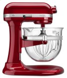 Pro 600 Design Series 6 Quart Bowl-Lift Stand Mixer - Candy Apple Red Product Image