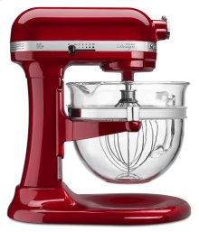 Pro 600 Design Series 6 Quart Bowl-Lift Stand Mixer - Candy Apple Red