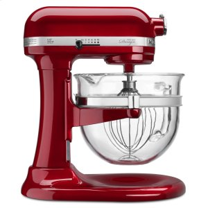 KitchenaidPro 600 Design Series 6 Quart Bowl-Lift Stand Mixer - Candy Apple Red