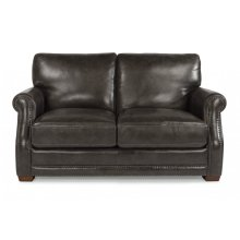 Chandler Leather Loveseat