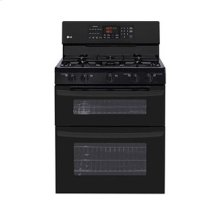 6.1 cu. ft. Capacity Gas Double Oven Range