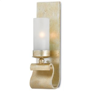 Avalon Silver Wall Sconce