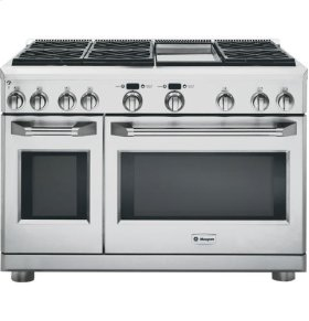 """48"""" Pro Range - All Gas with Griddle"""