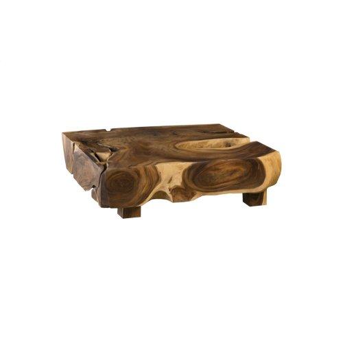 Acacia Freeform Coffee Table, Square