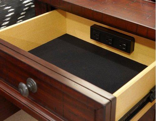 Hayden Three Drawer Nightstand