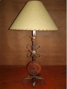 Texas Seal Metal Lamp