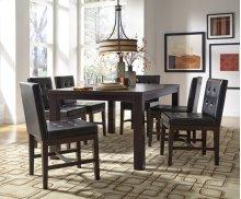 Rectangular Dining Table - Dark Chocolate Finish