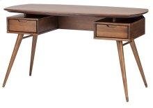 Carel desk  walnut stain