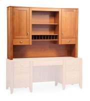 Justine Hutch Top for Desk or Credenza, Large Product Image