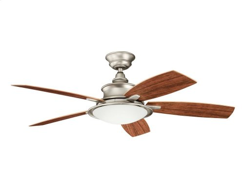 "Cameron 52"" Fan Brushed Nickel"