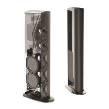 Triton Reference Floorstanding Tower Loudspeaker with Built-In 1800 Watt Powered Subwoofer