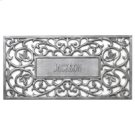Personalized Filigree Rectangle Mat French Bronze Product Image