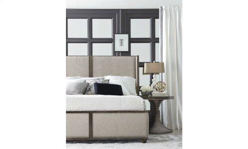 Geode Amethyst California King Upholstered Bed