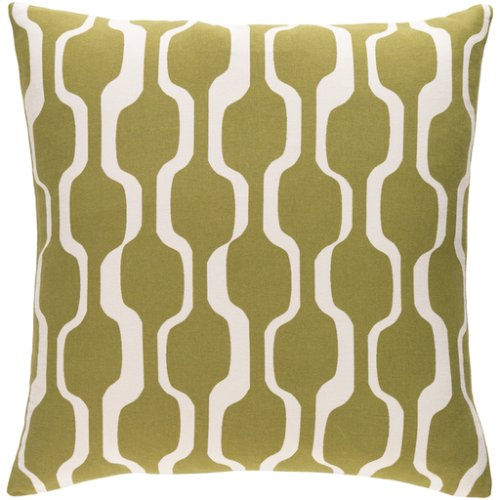 "Trudy TRUD-7123 18"" x 18"" Pillow Shell with Polyester Insert"