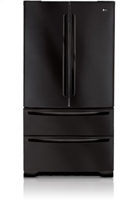 Four door refrigerator with a sleek, clean looking exterior