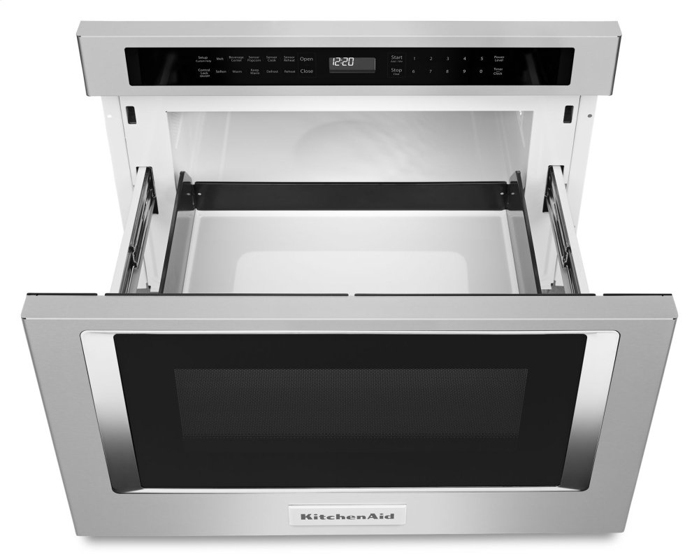 Kmbd104gss Kitchenaid 24 Under Counter Microwave Oven Drawer