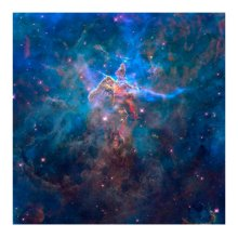 Mystic Mountain in the Carina Nebula