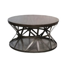 Cocktail Table, Available in Silver Iron Finish Only