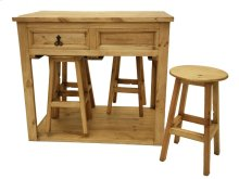 Kitchen Island W/4 Stools