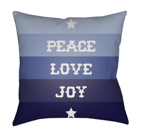 "Peace Love Joy HDY-077 20"" x 20"""