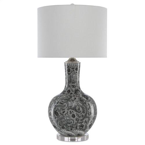 Sheng Black Table Lamp