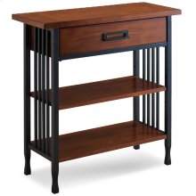 Ironcraft Foyer Bookcase with Drawer Storage #11261