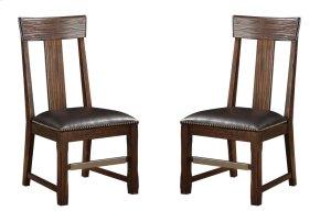 Emerald Home Ashland Splat Back Side Chair Brown D349-20