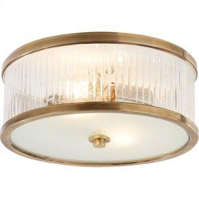 Visual Comfort AH4201HAB-FG Alexa Hampton Randolph 2 Light 14 inch Hand-Rubbed Antique Brass Flush Mount Ceiling Light