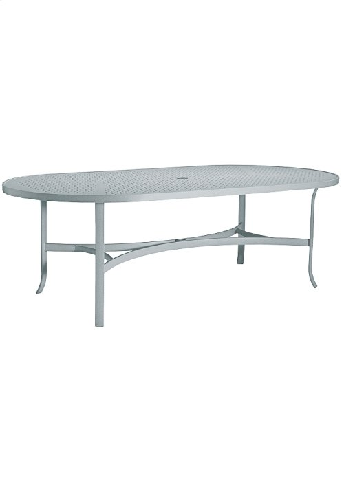 "Boulevard 84"" x 42"" Oval Dining Umbrella Table"